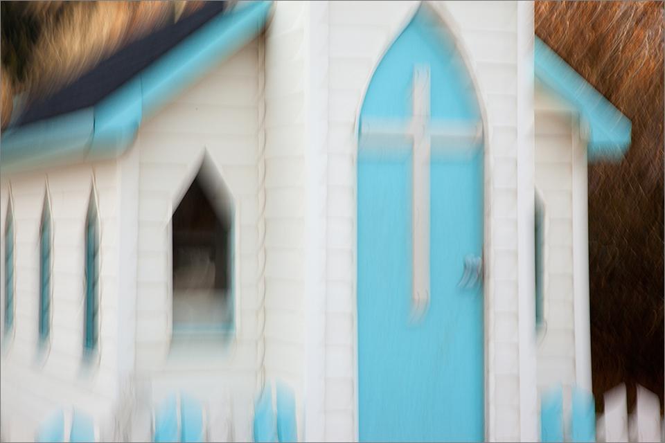Bellevue Wayside Chapel Blurred