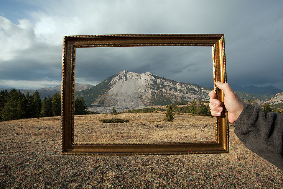 Turtle Mountain Framed