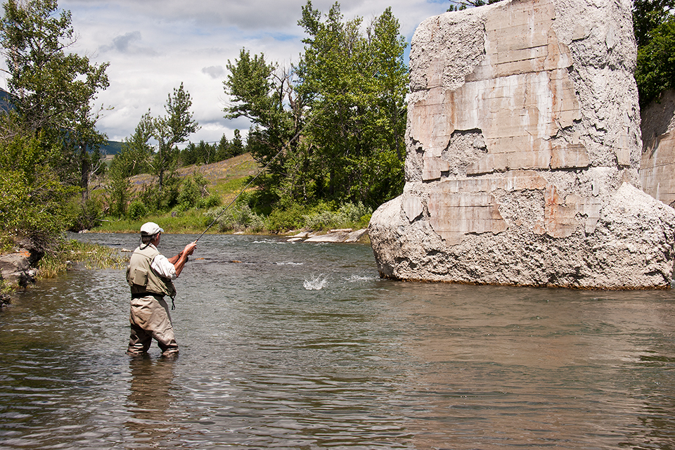 Crowsnest River Hook-Up