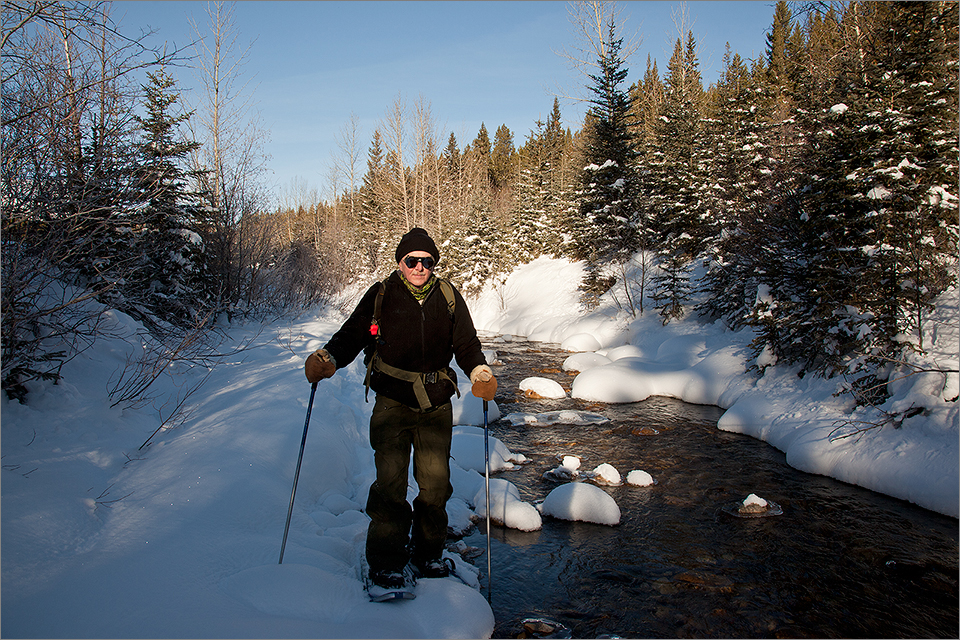 Snowshoeing #4
