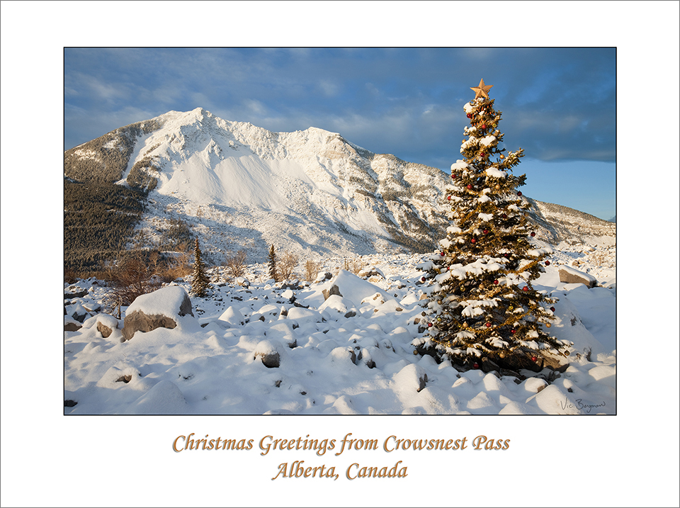 Christmas Greetings From Crowsnest Pass