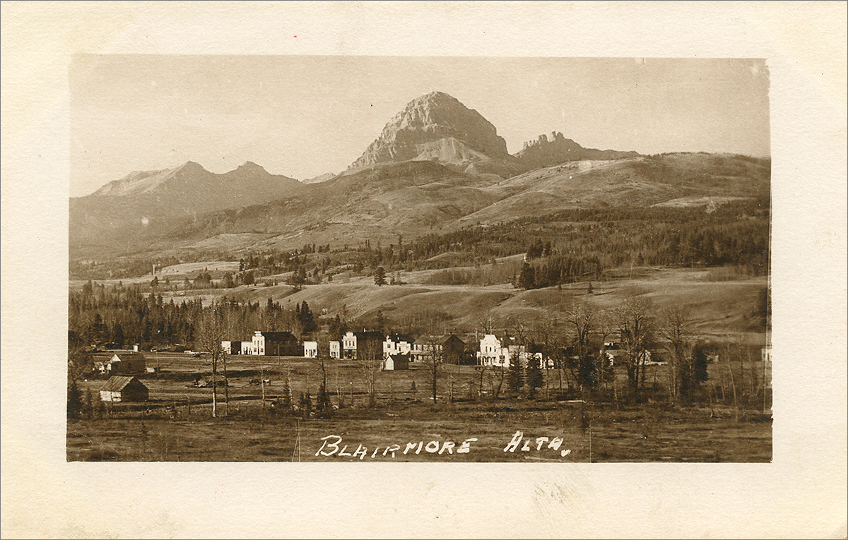 Blairmore, Alta. - Crow's Nest Pass (ca. 1905-1910)
