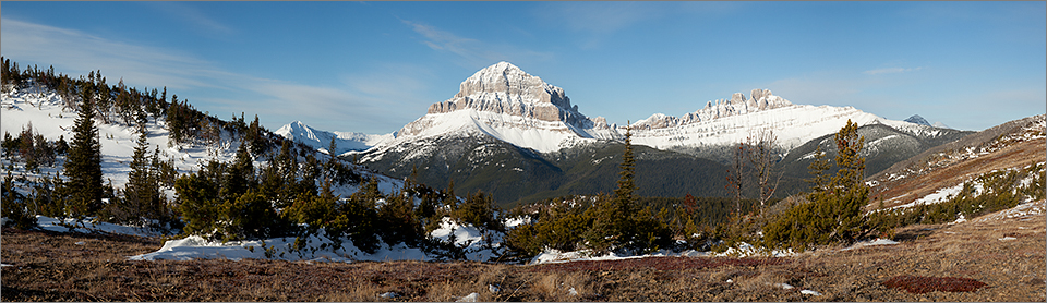 Crowsnest Mountain & The Seven Sisters