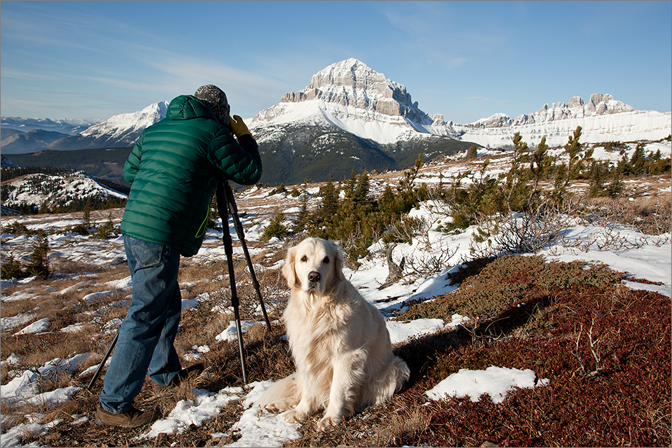 Photographing Crowsnest Mountain & the Seven Sisters