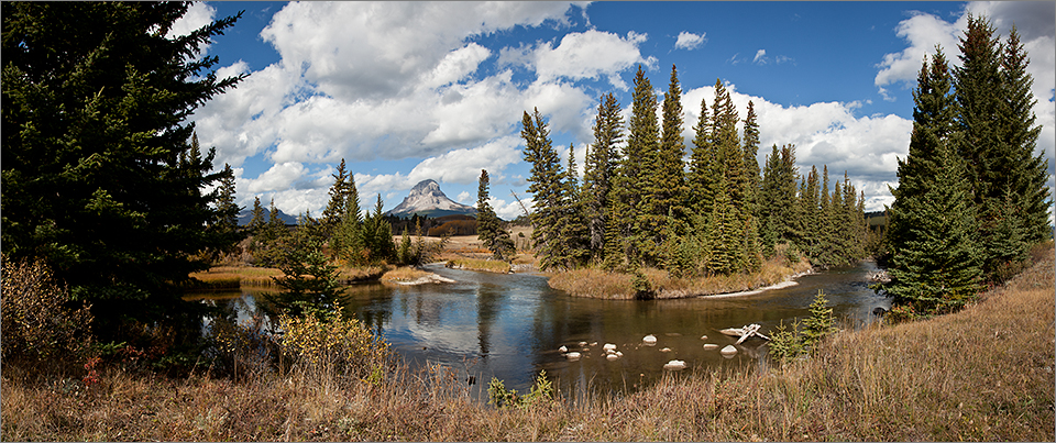 Crowsnest River Panorama