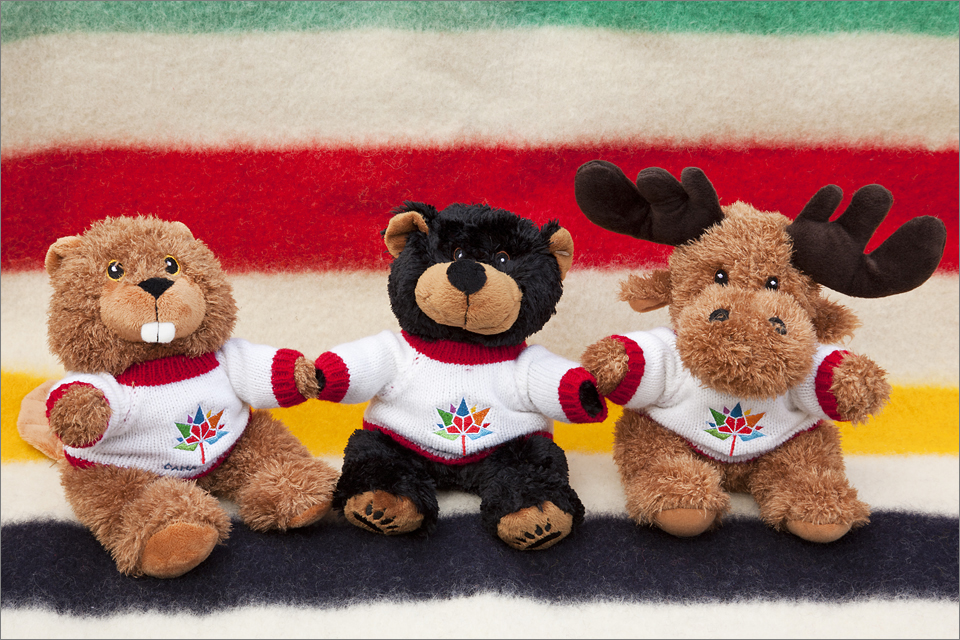 Canada 150 limited edition stuffed animals