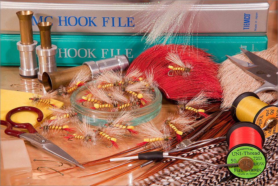 Tying hoppers for the fishing season