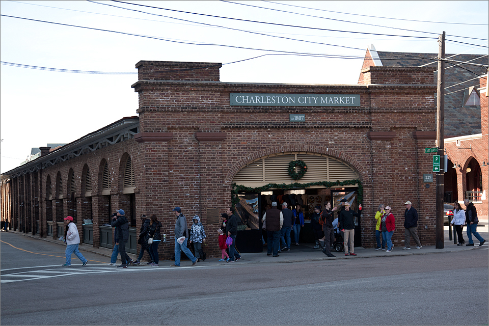 East entrance to Charleston City Market